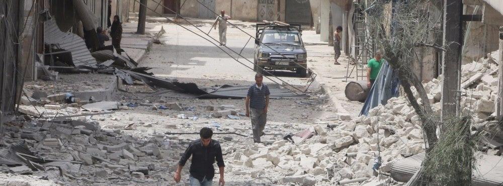 Quatro médicos mortos em ataque a clínica perto de Alepo