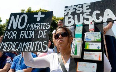 Venezuela: Escassez dos medicamentos atingiu 90% em setembro