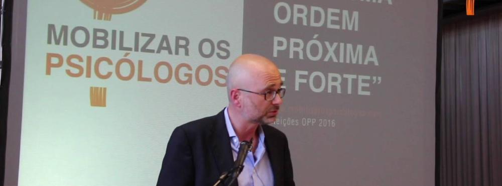 Novo bastonário da Ordem dos Psicólogos Portugueses toma hoje posse
