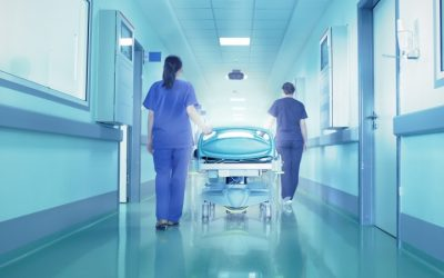 Auxiliares de ação médica em protesto para exigir carreira específica