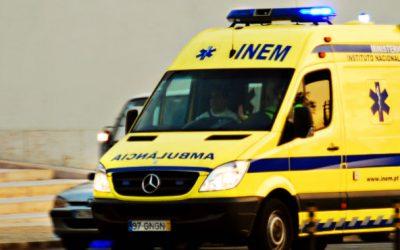 Ambulância envolvida em acidente mortal não estava certificada pelo INEM