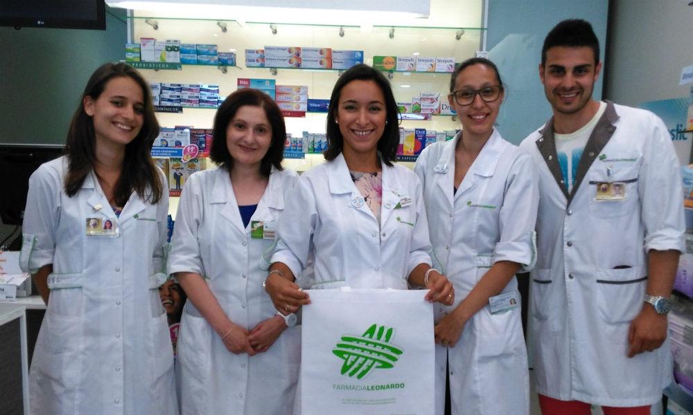 A jovem e dinâmica equipa: Dra Cláudia Vieira, Dra Brigite Ruano, Dra Ermelinda Fernandes, Técnica Marta Maravilhas, Dr Helder Sá.