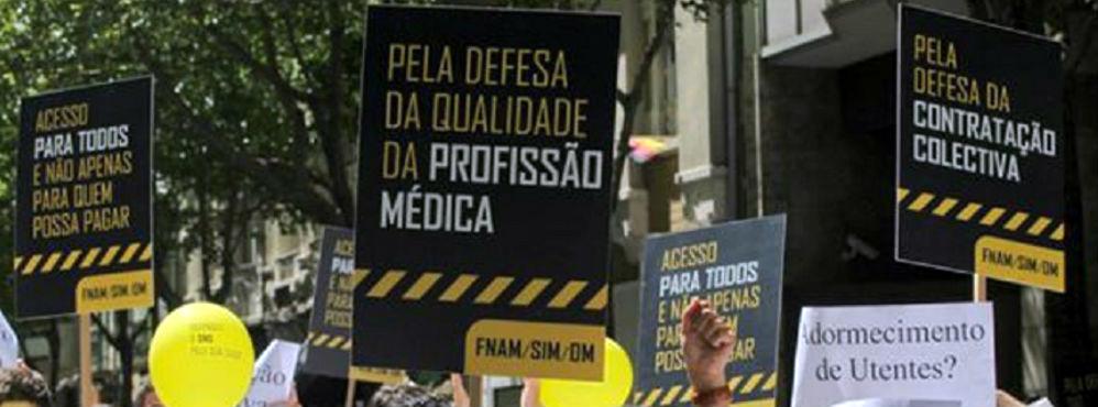 Nova reunião entre sindicatos médicos e governo não deve evitar greve
