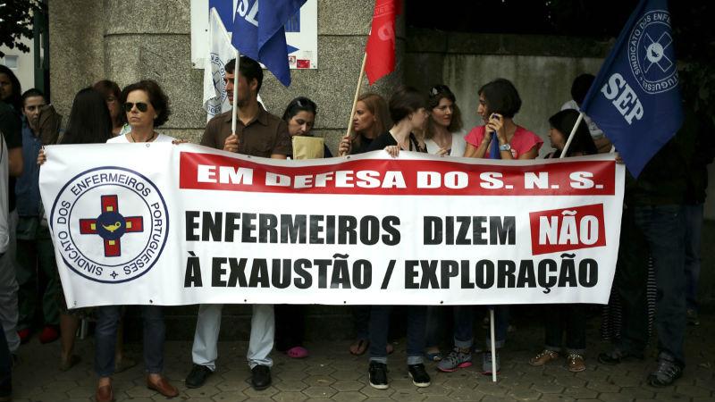 72% de adesão no segundo dia de greve dos enfermeiros