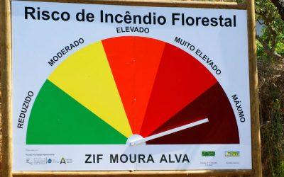 Risco máximo de incêndio para mais de 50 concelhos do continente