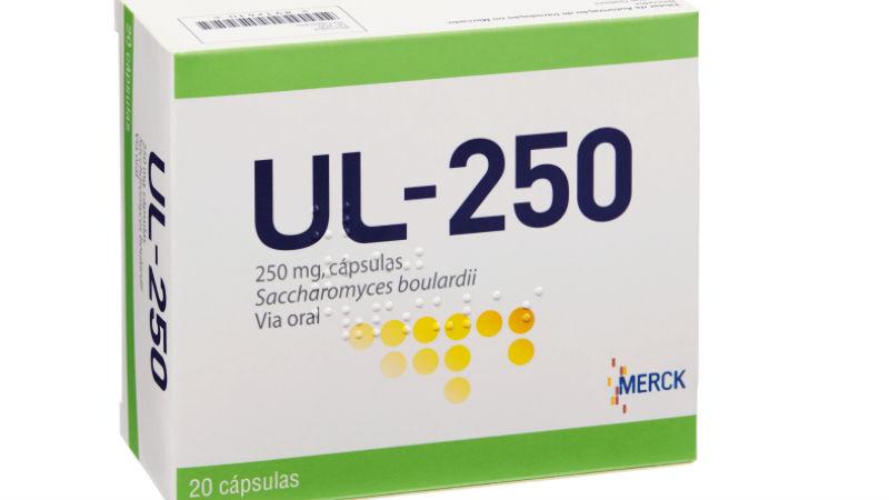 UL-250 Cápsulas: Para tratar os problemas de desconforto intestinal