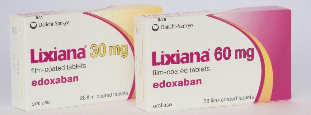 LIXIANA® (edoxabano) tem benefícios em relação a varfarina em doentes com FANV