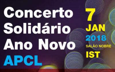 APCL promove concerto solidário de Ano Novo