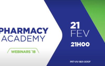 Webinar 'Pharmacy Academy' hoje às 21h