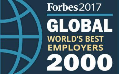 CSL no ranking da Forbes dos 50 melhores empregadores