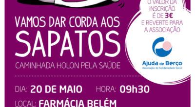 Farmácia Belém desafia utentes a 'dar corda aos sapatos'