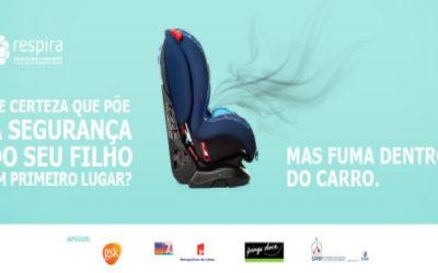 Campanha de Sensibilização: RESPIRA alerta para os perigos da exposição do tabaco nas crianças