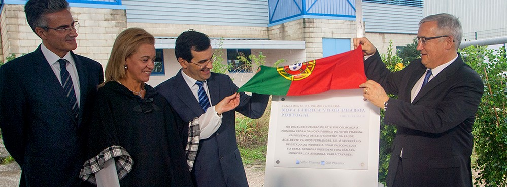 OM Pharma: multinacional Suíça constrói fábrica para produzir medicamento inovador na Amadora