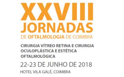 Especialistas nacionais e internacionais reunidos nas XXVII Jornadas de Oftalmologia de Coimbra