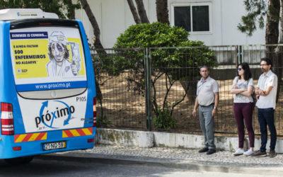 Autocarros urbanos no Algarve alertam para falta de 500 enfermeiros na região
