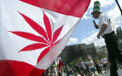 Canadá aprovou uso da cannabis para fins recreativos