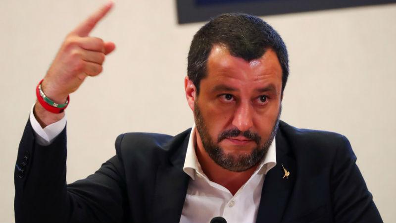 Salvini diz que tuberculose está a alastrar em Itália por causa dos imigrantes