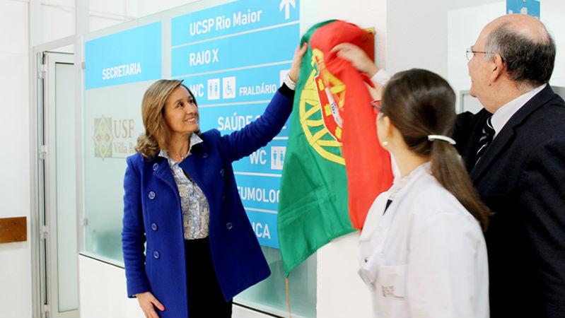 Nova USF de Rio Maior proporciona médico de família a 3.563 utentes