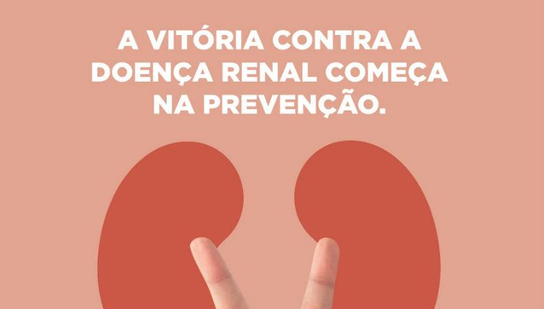 Nova campanha sensibiliza para prevenção da doença renal