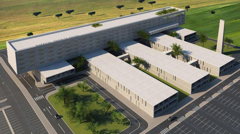 """Governo estabelece """"caráter prioritário"""" do novo Hospital Central do Alentejo"""