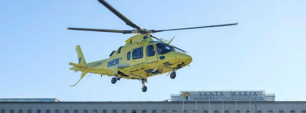 Nenhum hospital de Lisboa pode receber helicópteros do INEM durante a noite