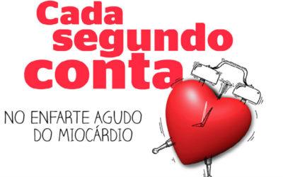 """""""Cada segundo conta"""". Figuras públicas associam-se a campanha sobre o enfarte"""