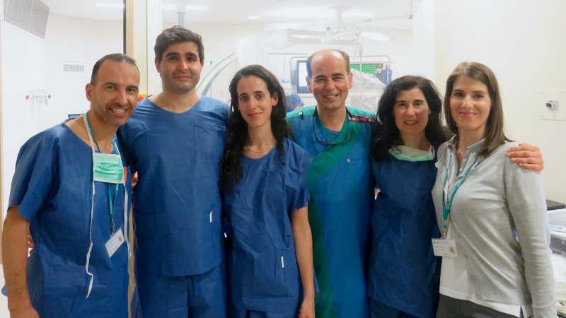 Equipa do Hospital da Luz realiza primeira intervenção guiada por ecografia intracardíaca em Coimbra