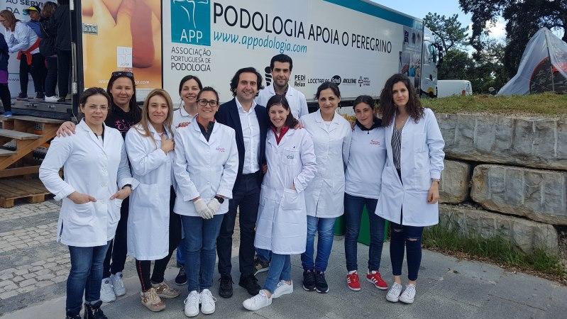 50 podologistas voluntários ajudam peregrinos a chegarem a Fátima