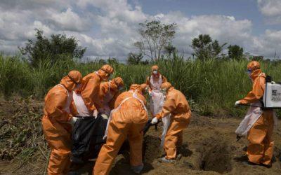 Ébola: República Democrática do Congo registou 44 mortos na última semana