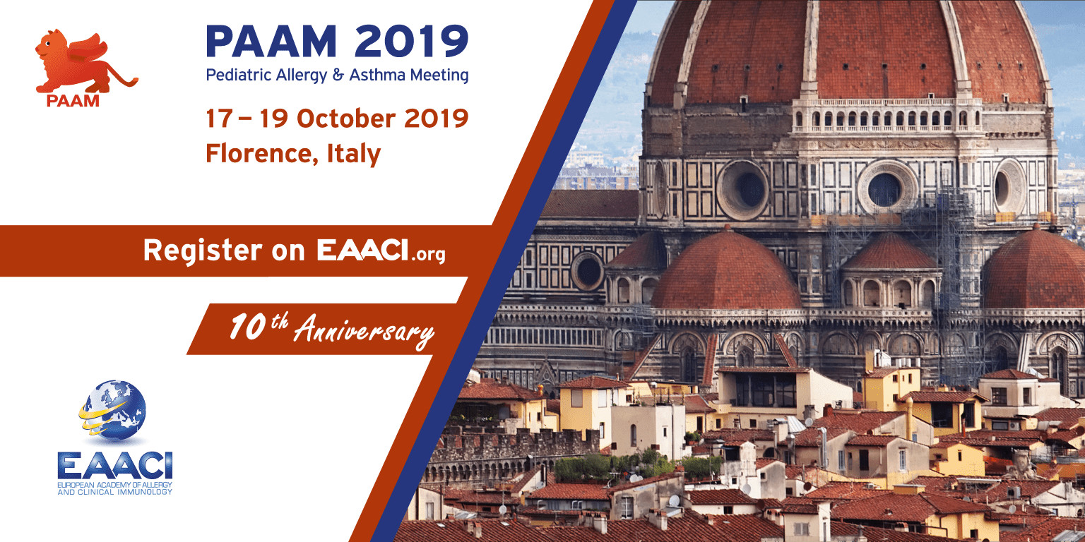 PAAM 2019, Pediatric Allergy and Asthma Meeting