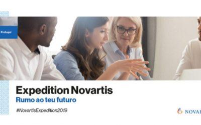 """""""Expedition Novartis"""", uma porta de entrada para o mercado de trabalho"""