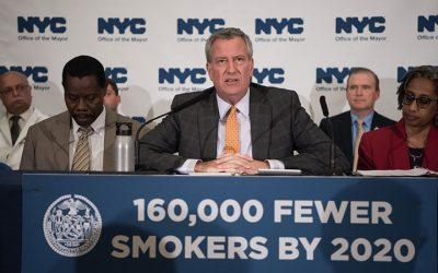 Nova Iorque proíbe venda de tabaco a menores de 21 anos