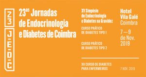 23as Jornadas de Endocrinologia e Diabetes de Coimbra @ Hotel Vila Galé, Coimbra