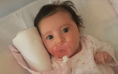 Bebé Matilde vai ter alta hoje do hospital