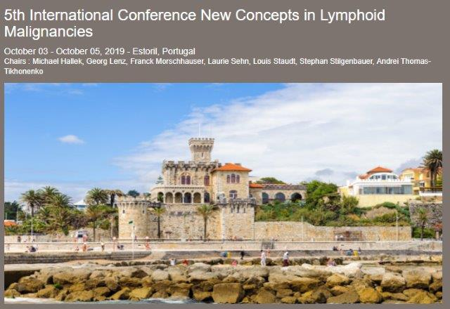5th International Conference on New Concepts in Lymphoid Malignancies