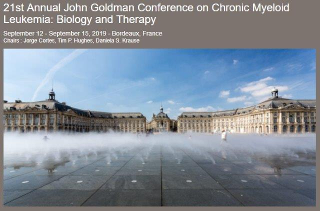 21st Annual John Goldman Conference on Chronic Myeloid Leukemia: Biology and Therapy