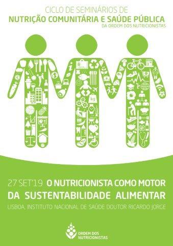 Seminário | O Nutricionista como motor da Sustentabilidade Alimentar