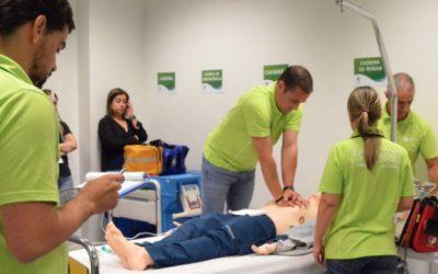 Formação em suporte avançado de vida certificado em hospital português
