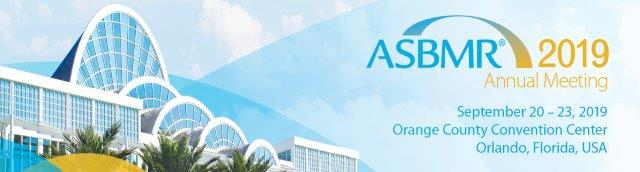 The American Society for Bone and Mineral Research (ASBMR) 2019 Annual Meeting