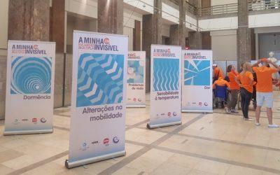 """Exposição """"A Minha Esclerose Múltipla"""" em Portimão até domingo"""