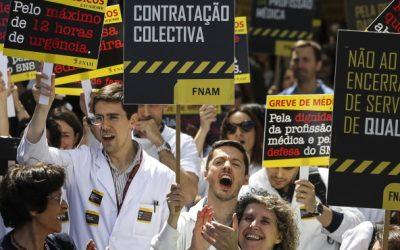 Federação Nacional dos Médicos exige redução do trabalho em urgência