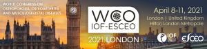 The WCO-IOF-ESCEO Congress 2021 @ Hilton Hotel Metropole, Londres