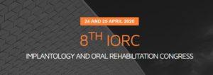 8TH IMPLANTOLOGY AND ORAL REHABILITATION CONGRESS @ Faculdade de Medicina Dentária, Universidade de Lisboa