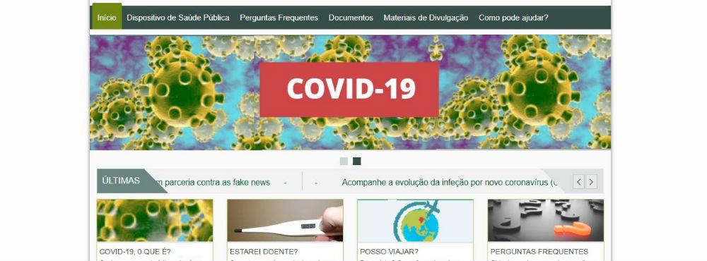 Covid-19: DGS lança microsite com informações sobre a doença