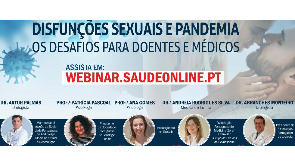 Disfunções sexuais e pandemia: Os desafios para doentes e médicos