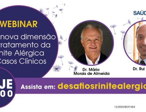 Rinite Alérgica: Webinar junta Imunoalergologia e MGF para discutir casos clínicos