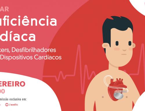 AADIC promove sessão online sobre insuficiência cardíaca