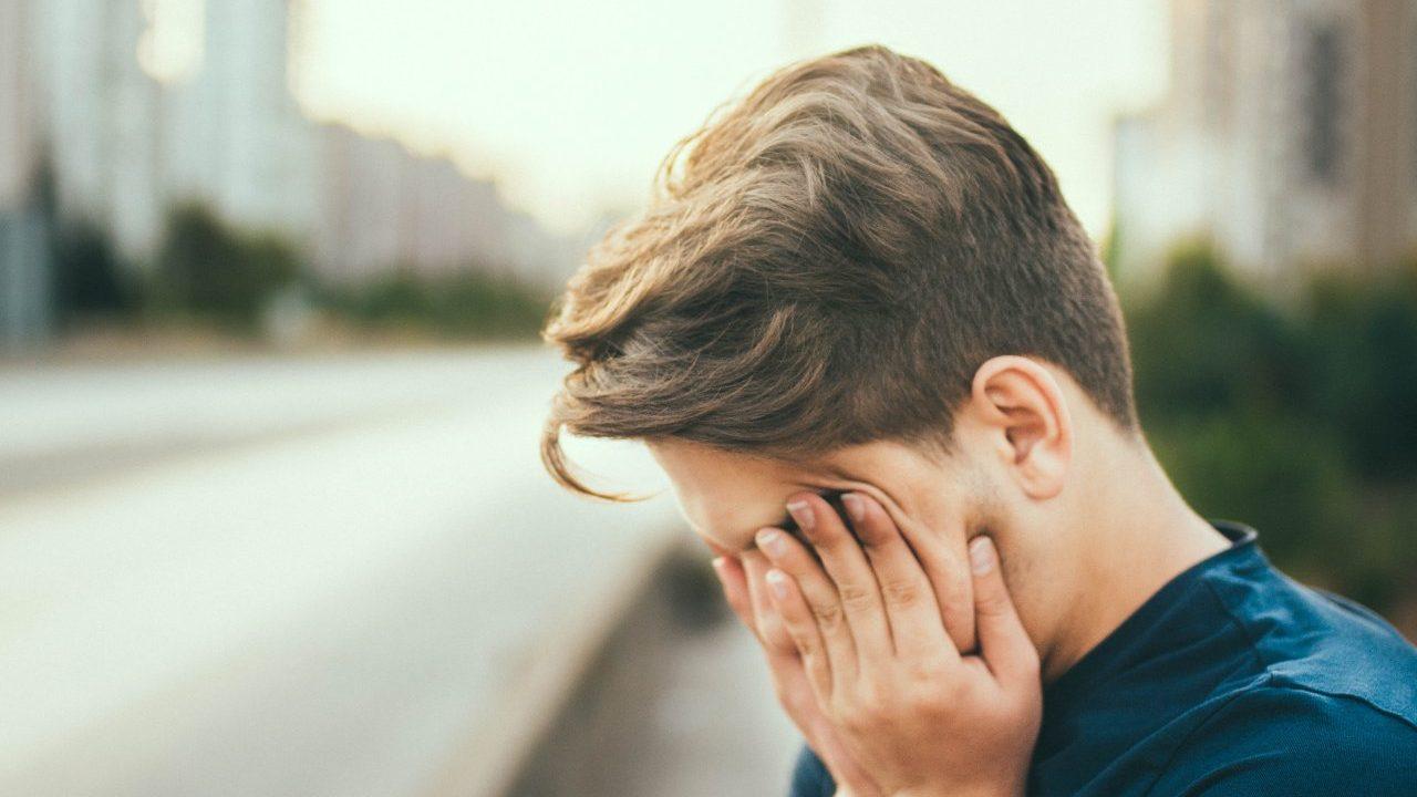 visão dores de cabeça