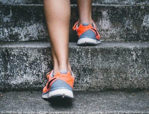 Teste a saúde do seu coração a subir escadas