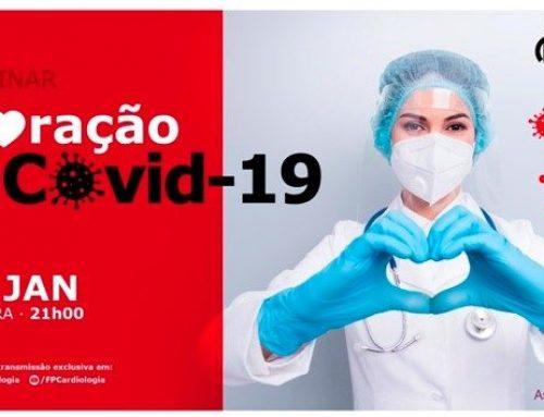 """""""Coração e Covid-19"""" em discussão pela FPC"""